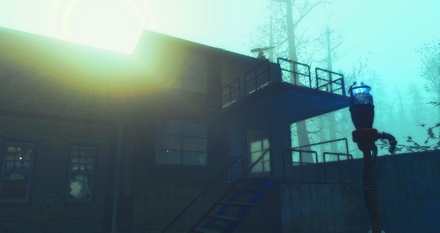 А кто узнает поселение из DLC? Fallout4