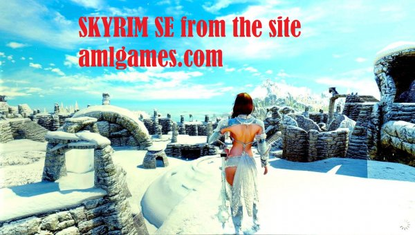 Skyrim Special Edition - глазами Windfire