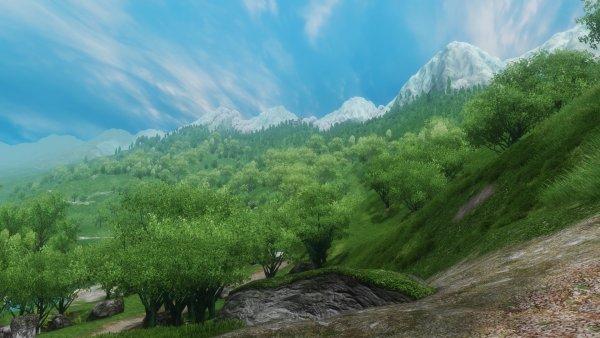 Холмы и равнины, леса и поля...