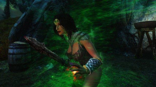 Велена-вампир в SEXRIM 19.3.0