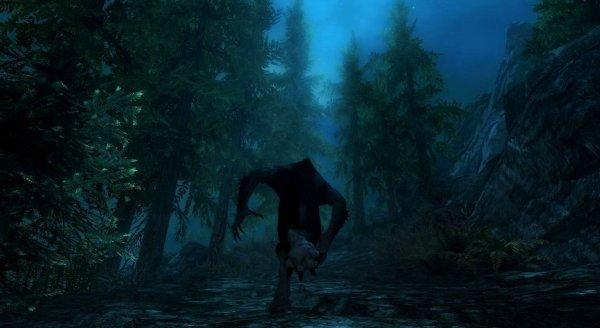 Бегущий в ночи зверь.. Skyrim SE