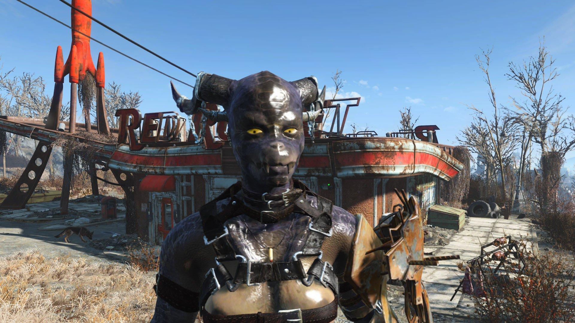 Xarna Female Deathclaw Mutant Rus