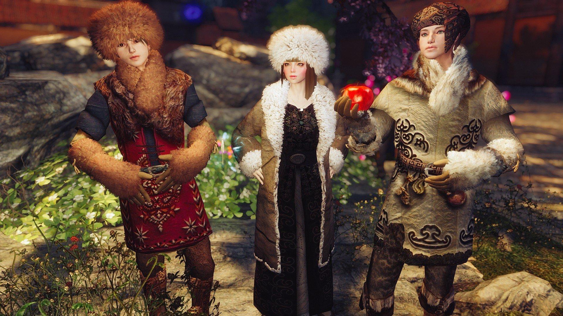 Tasheni's Ethnic Winterclothes Rus