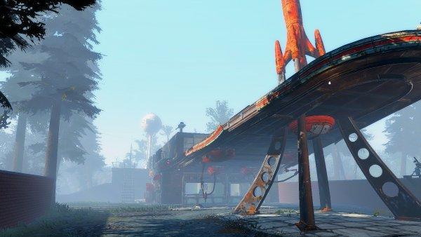 Моя Красная Ракета с одной из сборок. Fallout4