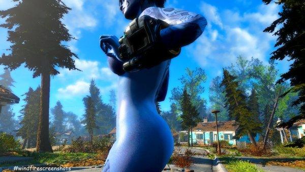 Приличный скрин для инстаграм.. )) Fallout4