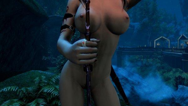 Ну раз всем так понравился меч.. SkyrimSE