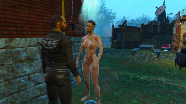 У Кейт вдруг - появился друг! ))) Fallout4