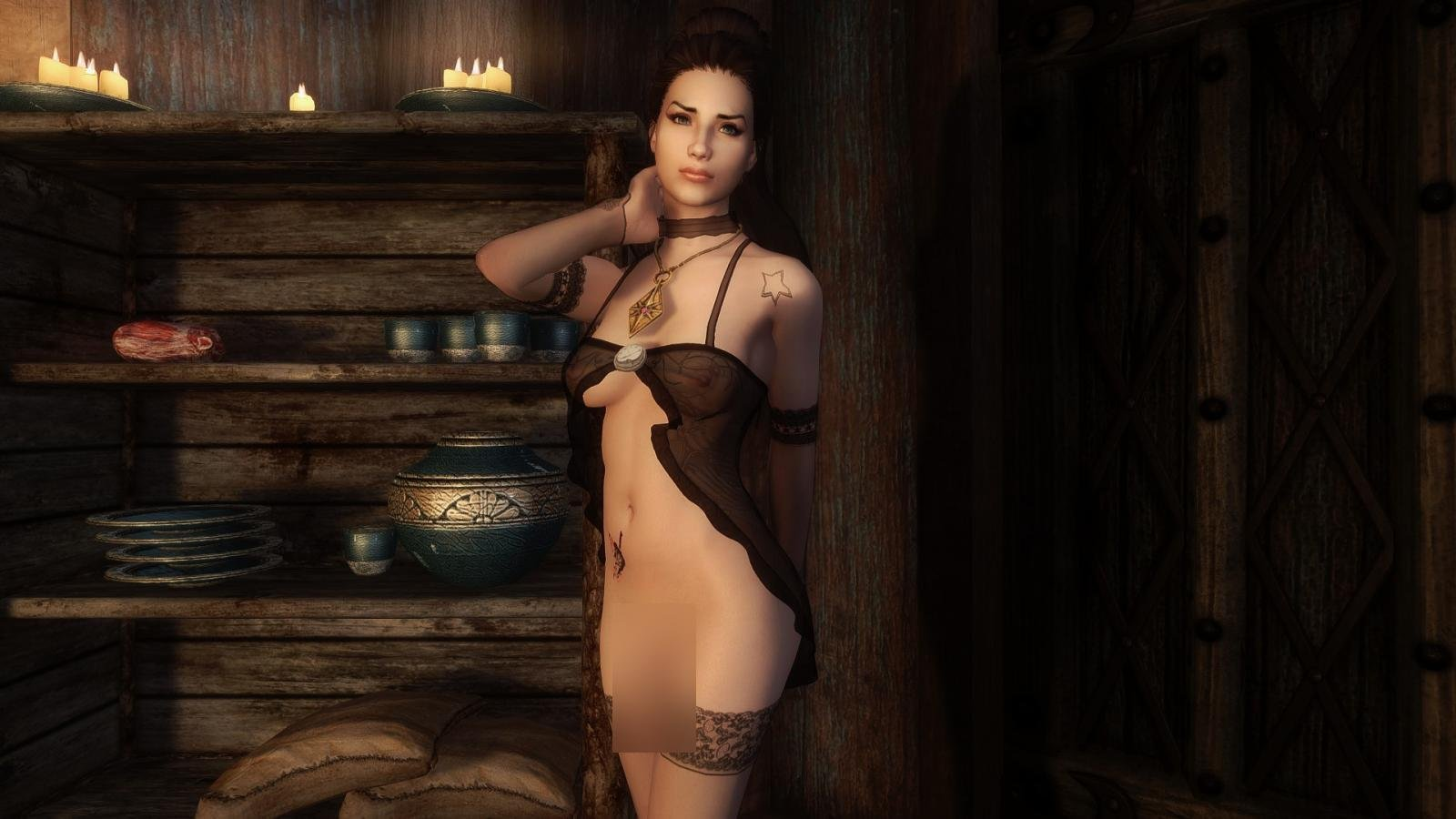 Kalena Rios Transsexual Follower LE и SE Rus