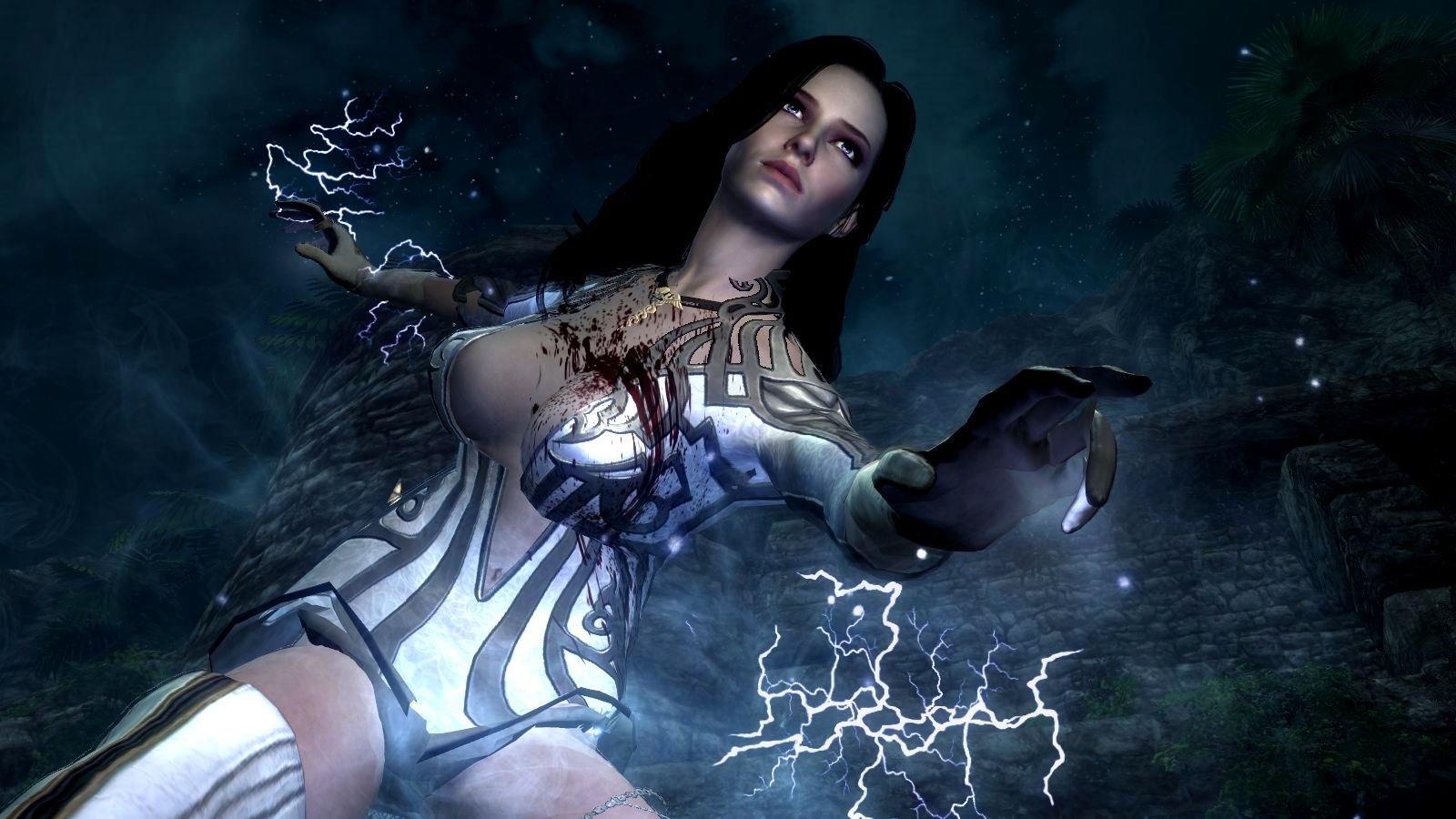 Смертоносная Йеннифер.. SkyrimLE (сборка 4.0)