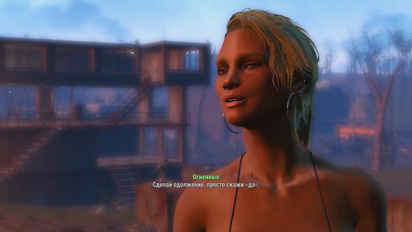 Давний с крин из Кантри-Кросиинг. Fallout4