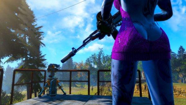 На страже поселения.. Fallout4
