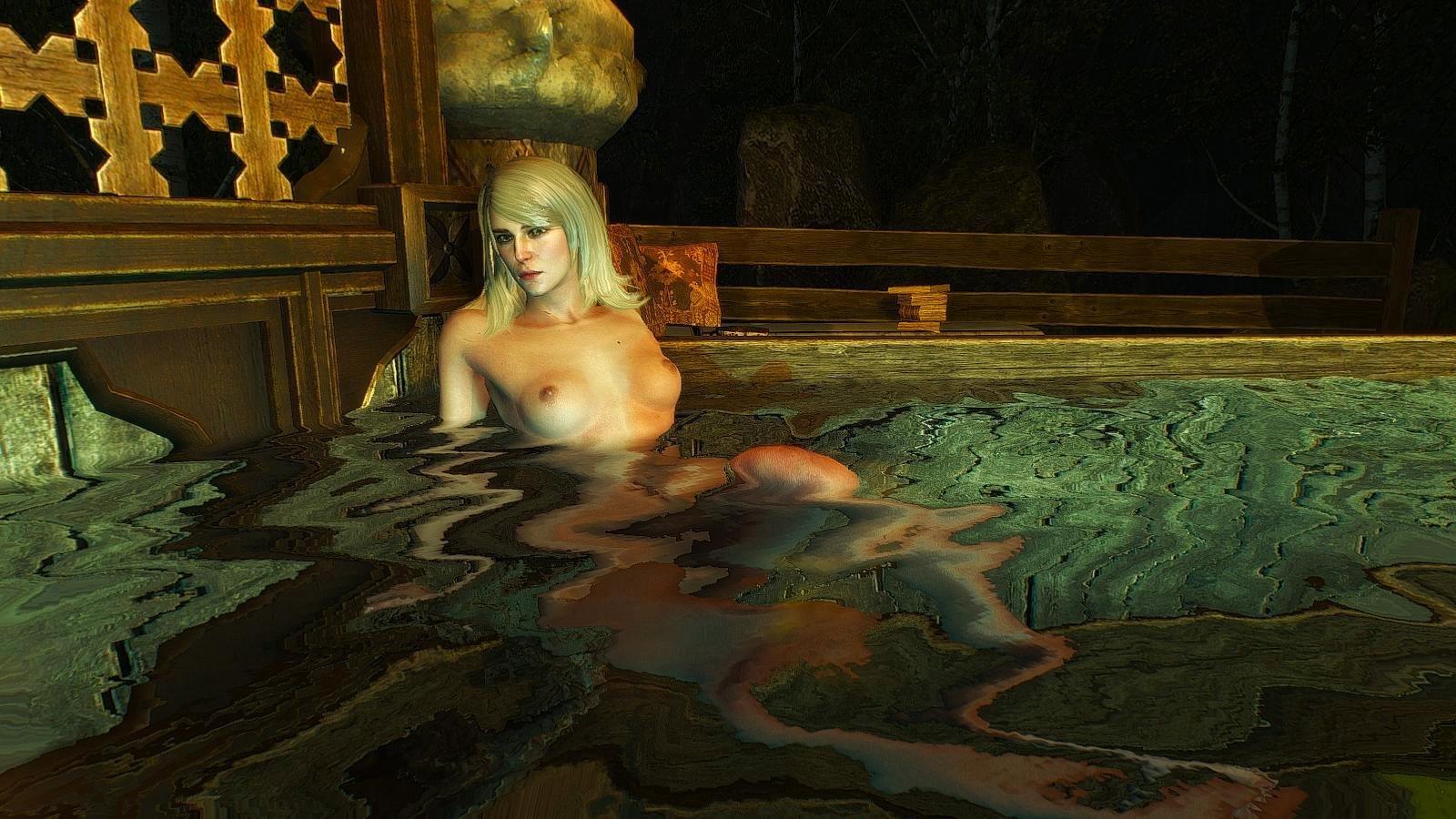 Кейра ждёт, когда же её найдет таки Геральт )))