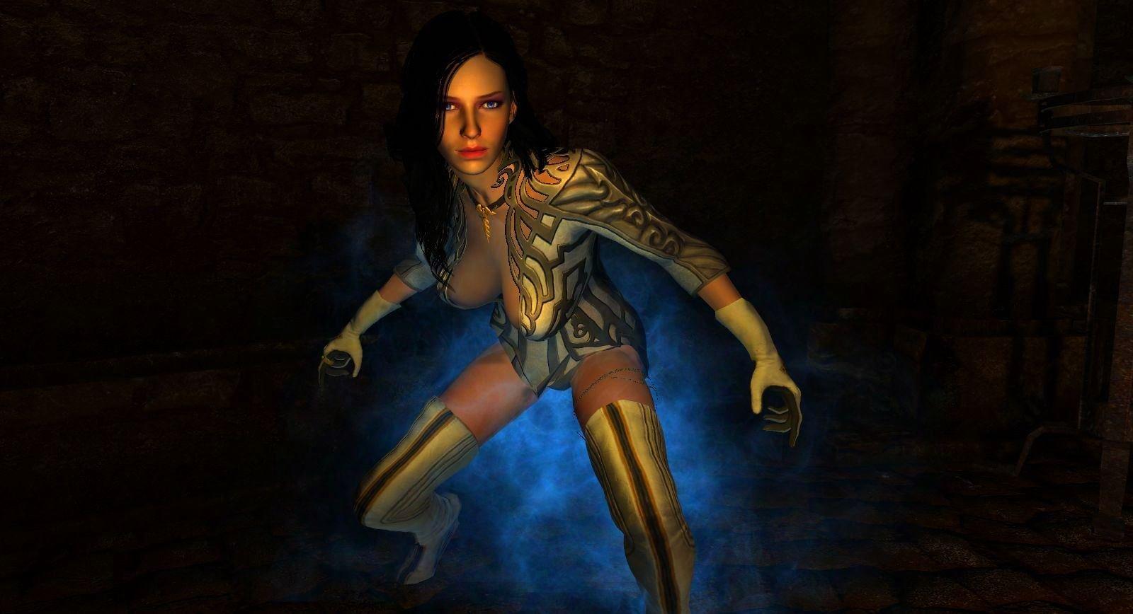 Йеннифер... SkyrimLE (тропики 4.0)