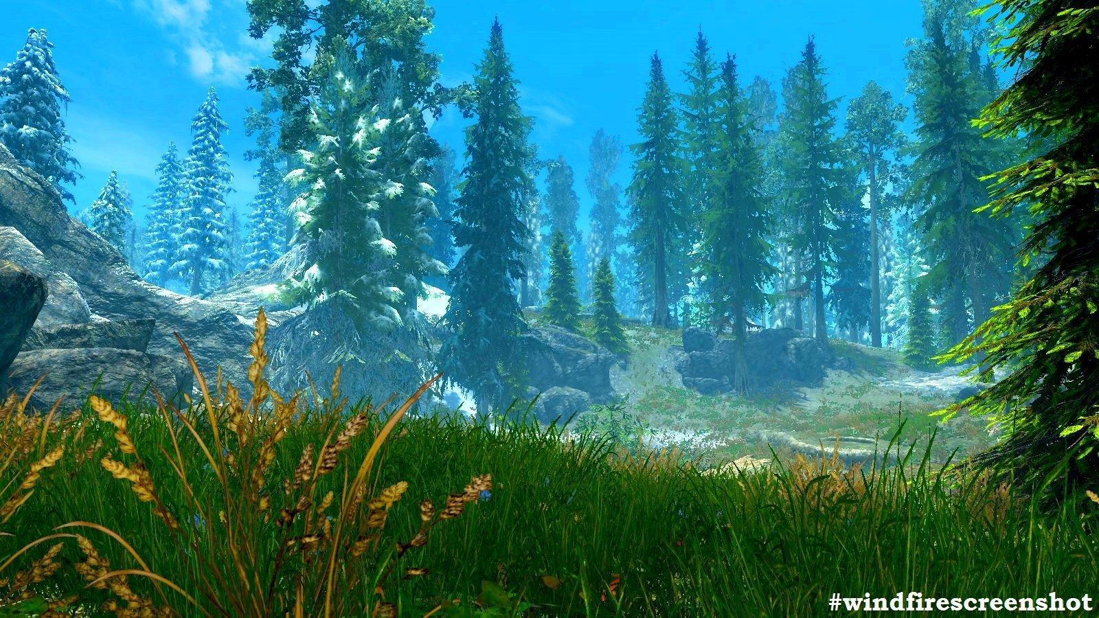 Природа в SkyrimSE (сборка 6.0 ЛЕТО-зима)