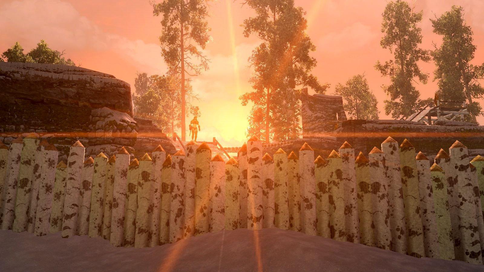 Закат над Талморской крепостью. (сборка 6.0)
