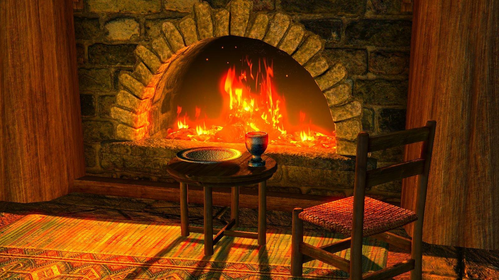Уютный очаг.. Skyrim SE (сборка 6.0)