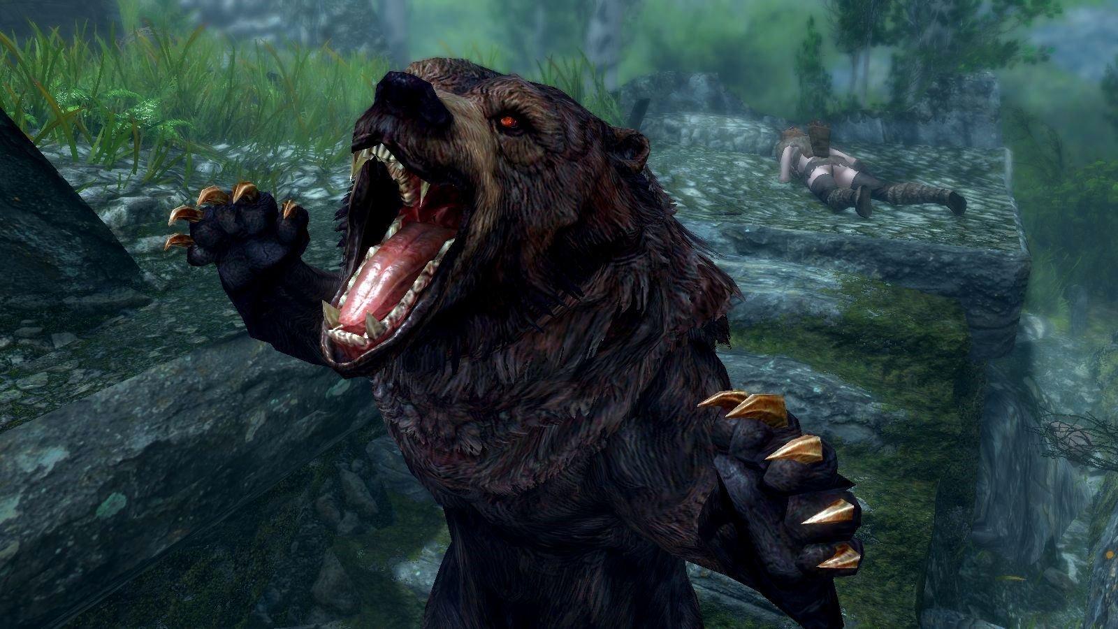 Огромный ревущий медведь.. (сборка 6.0 ЛЕТО)
