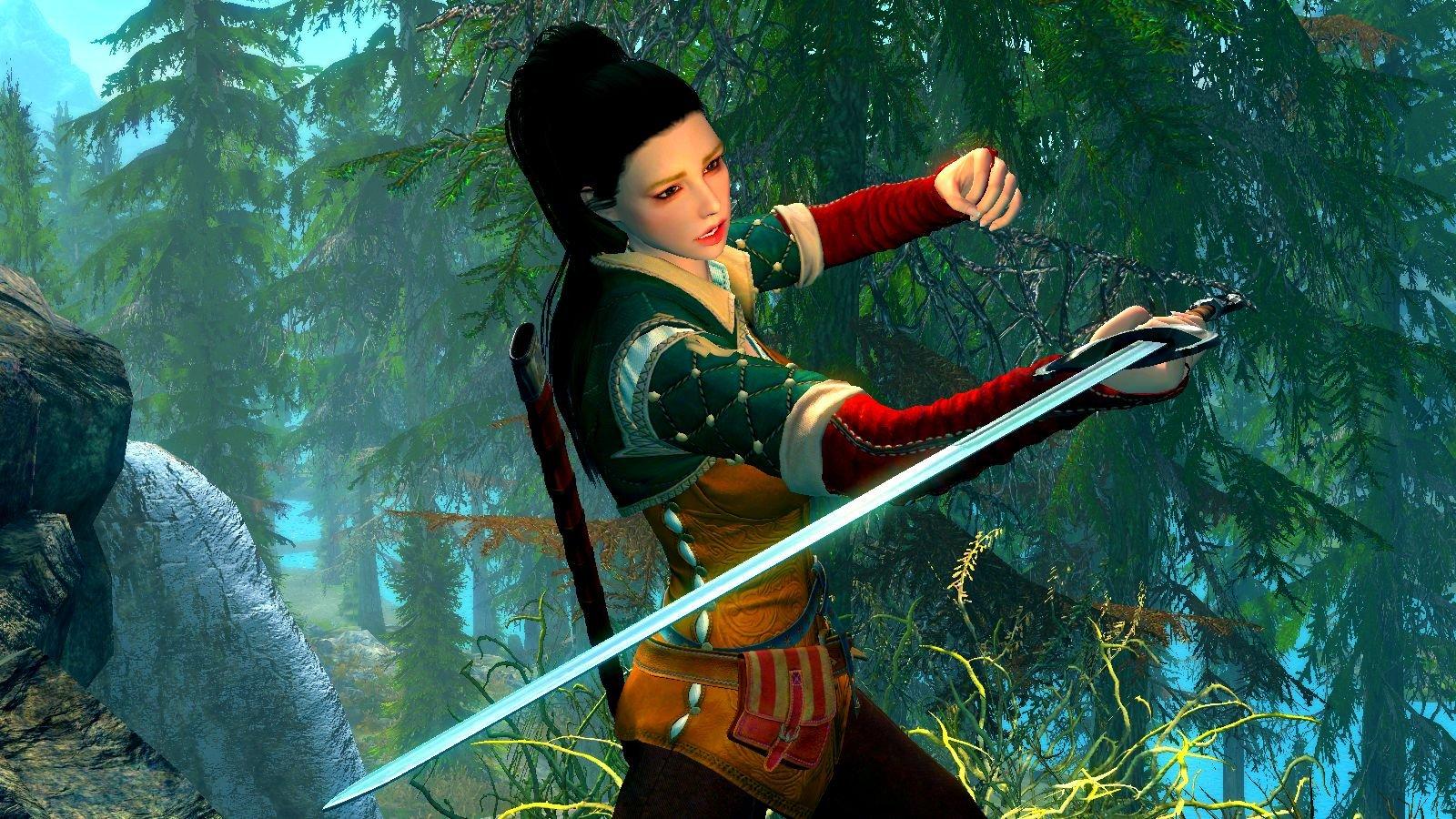 Чудо-женщина стала осваивать владение мечом
