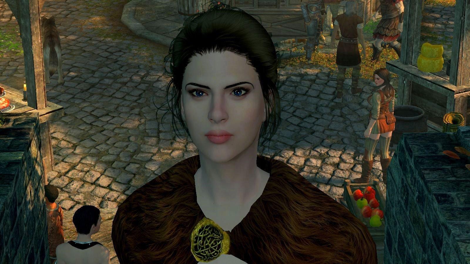 Знатная дама в Вайтране.. SkyrimSE (сборка 6.0)