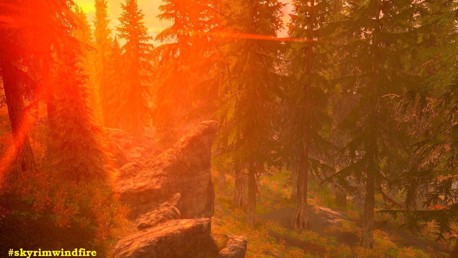 Закатное солнце Скайрима.. (сборка 6.0 ЛЕТО)