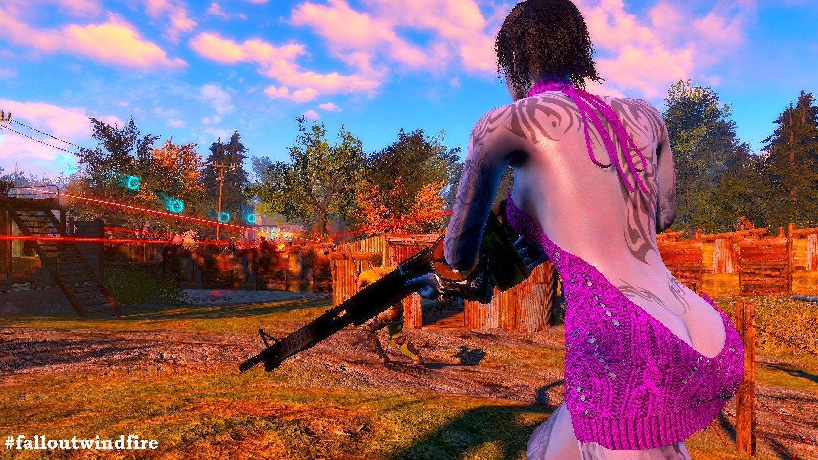 В Картри-Кроссиинг - жаркий день! Fallout4