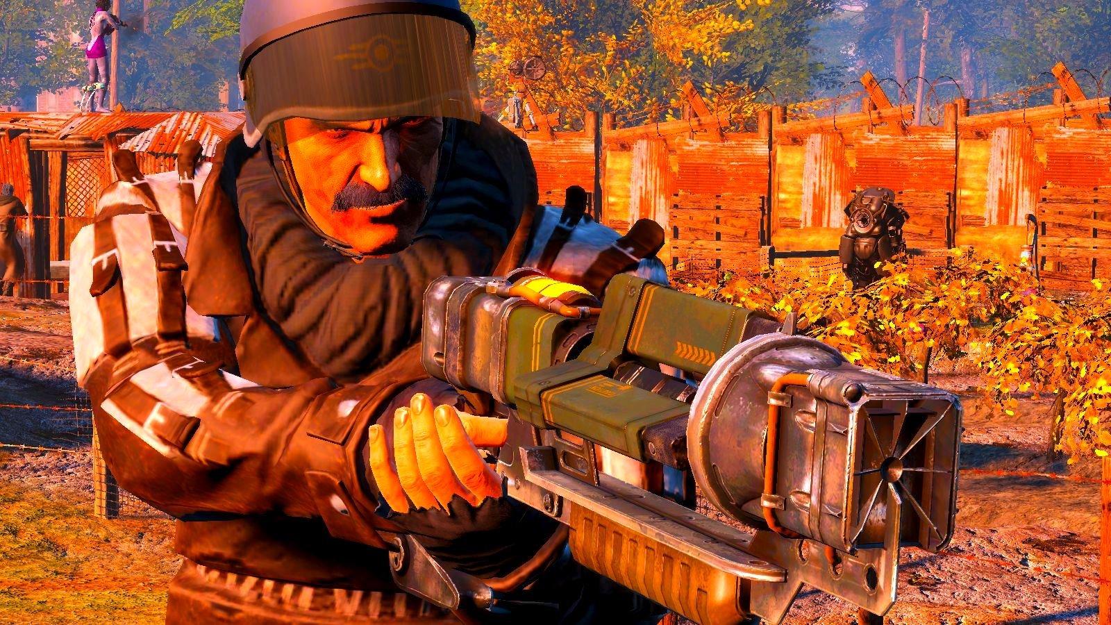 А чем вооружены ваши поселенцы? Fallout-4