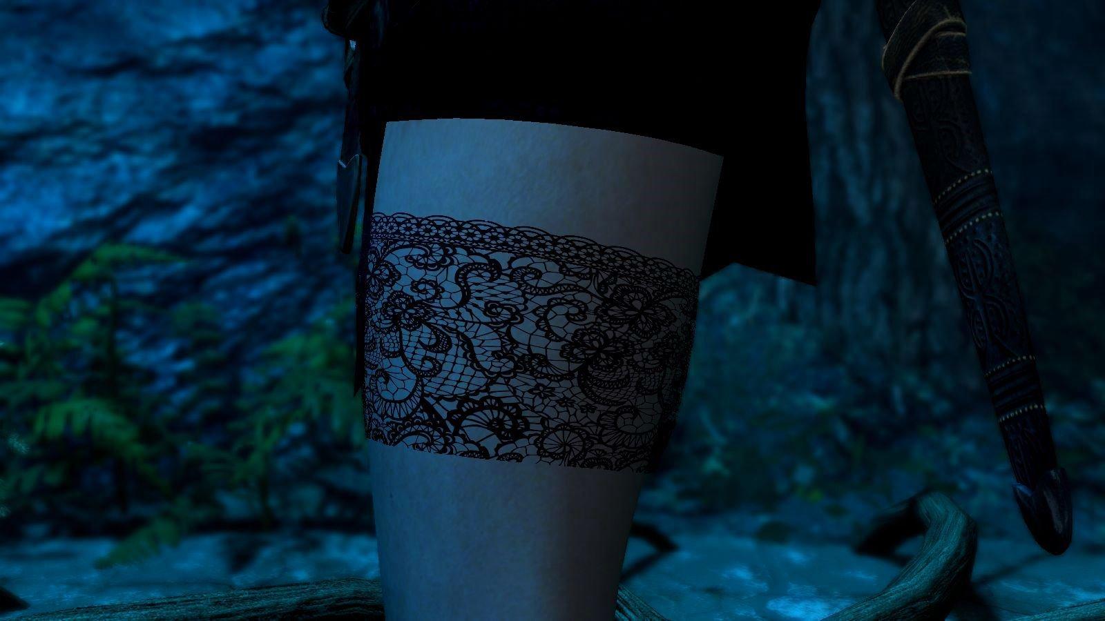 Ножки Йен в - сборке 6.0 SkyrimSE  :)