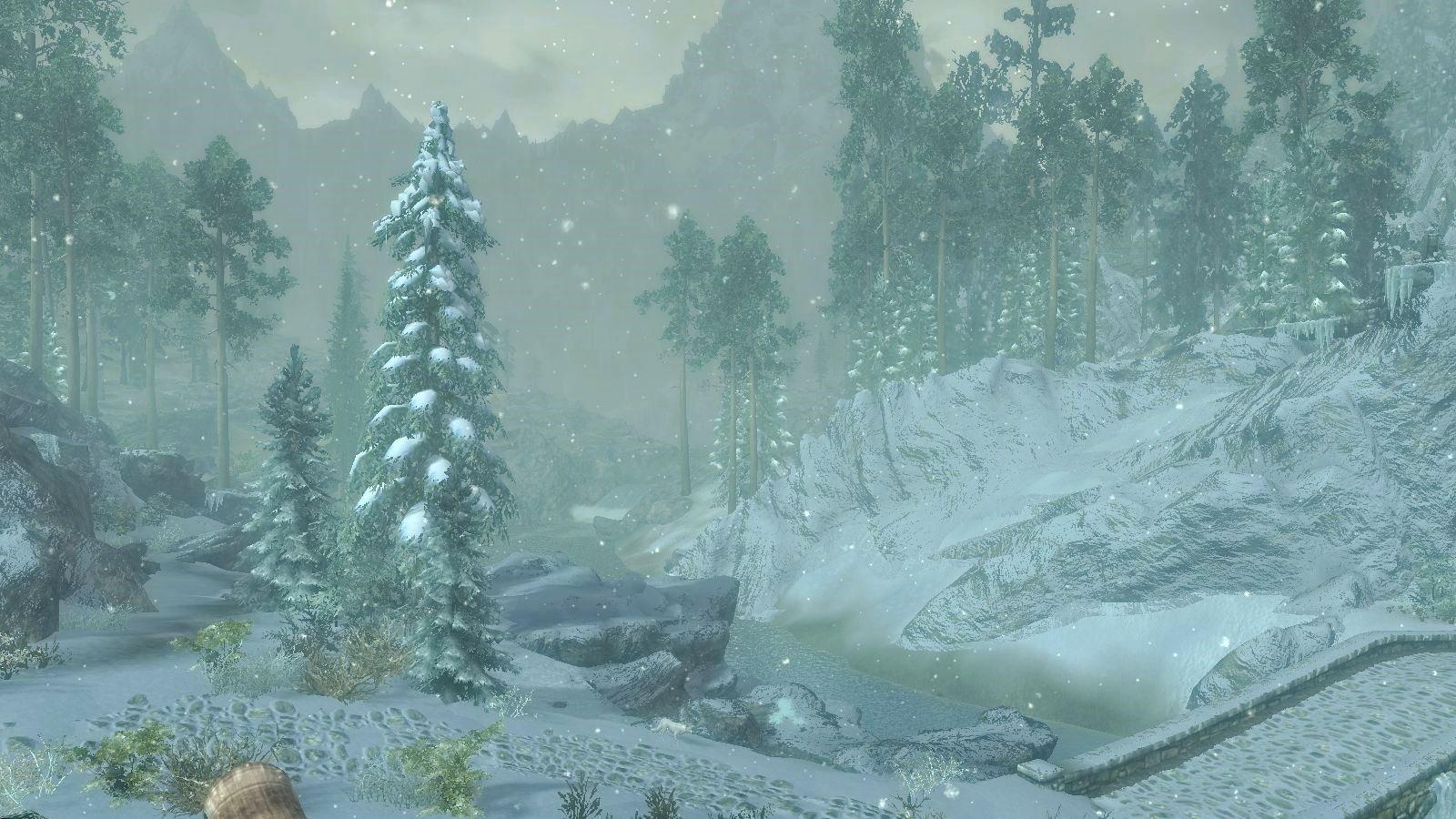 В Летне-Зимней сборке 6.0 снежная часть такая