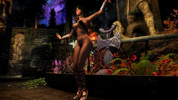 SkyrimSE 6.0 - Танцули