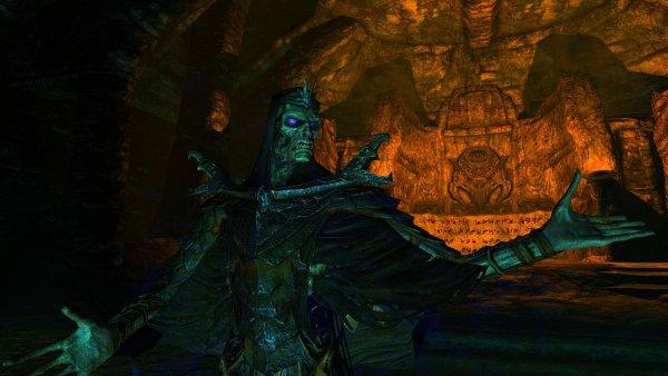 Древний жрец в гробнице.. SkyrimSE