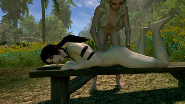 Тропический массаж