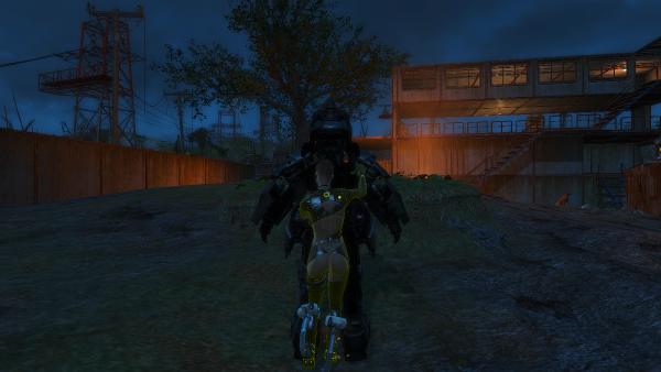 В поселении Кантри-Кроссиинг. Fallout4