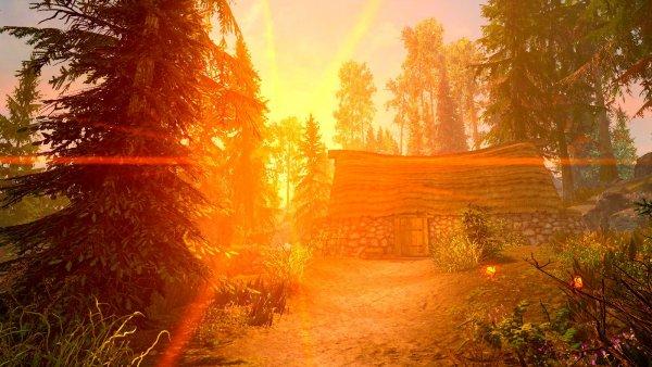 Хижина в лесу Фолкрита.. (сборка 6.0 ЛЕТО)