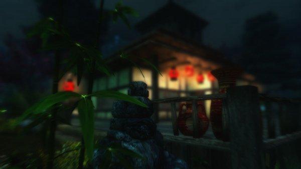 Акавирский домик самурая. SkyrimLE (19 сборка)