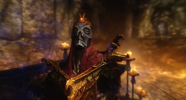 Снова убитый Драконий Жрец.. ))  SkyrimLE