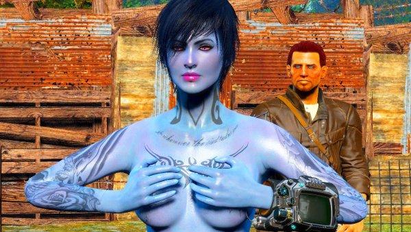 Всем копаться в грядках, нефиг! ))) Fallout-4