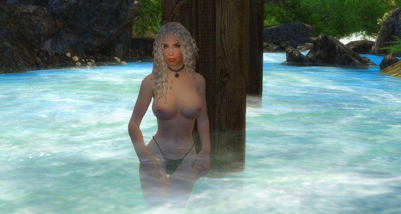 Алиса в реке жарким днём.. Enderal (СБОРКА 3.0)