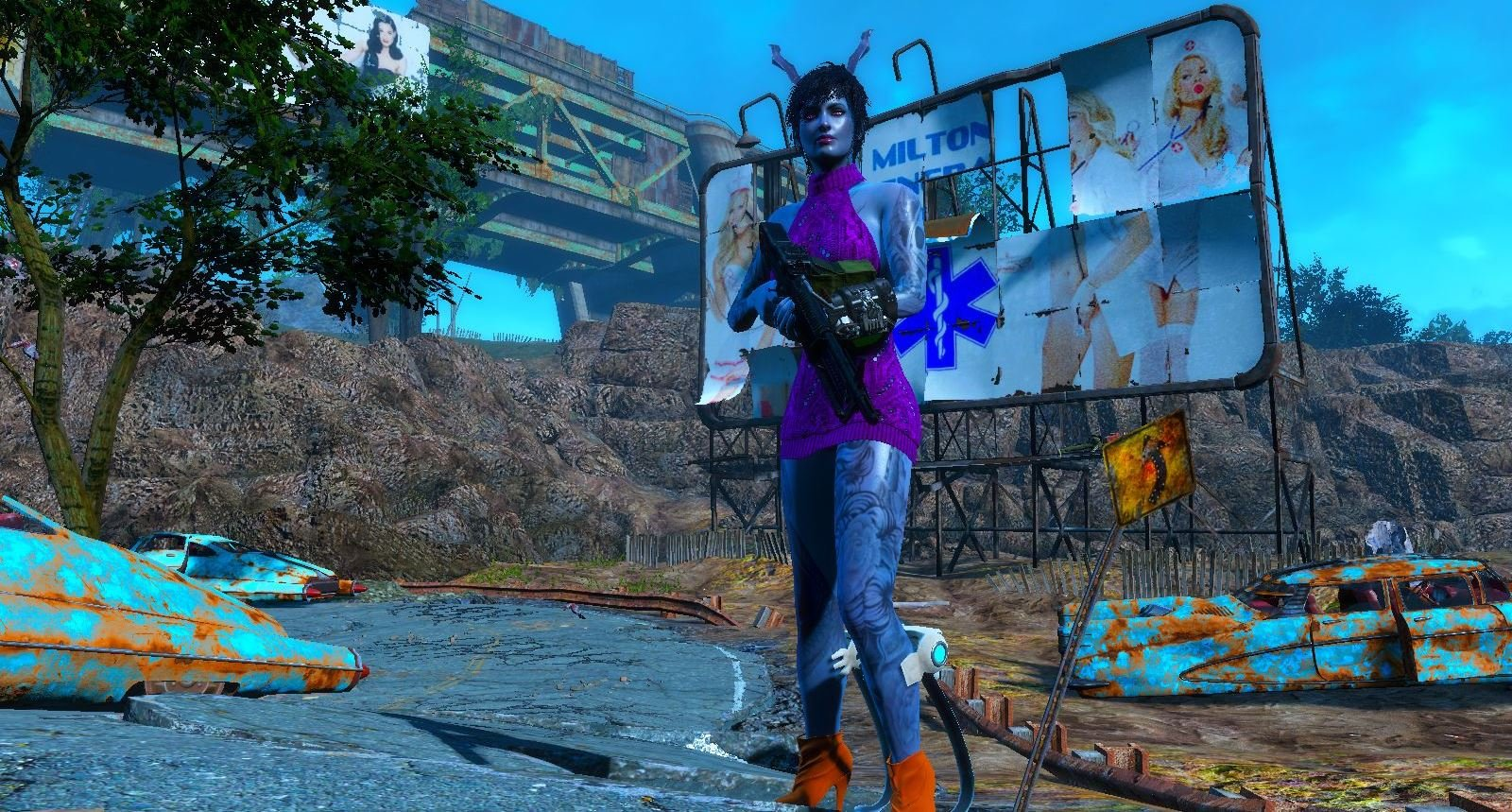Модница содружества ;) Fallout-4
