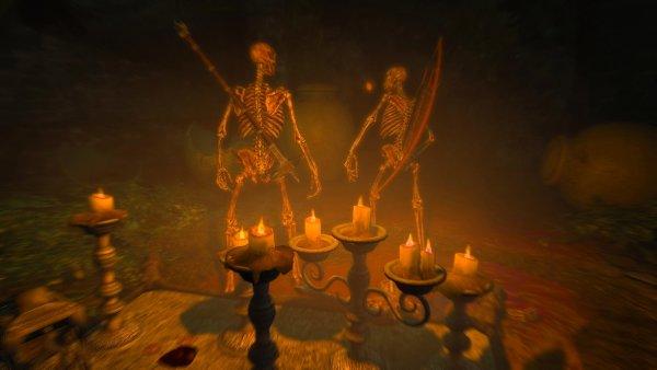Скелетики в ENDERAL (сборка 2.0)