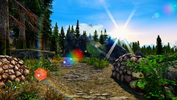 SkyrimSE 6.0 - Еще красивые пейзажи