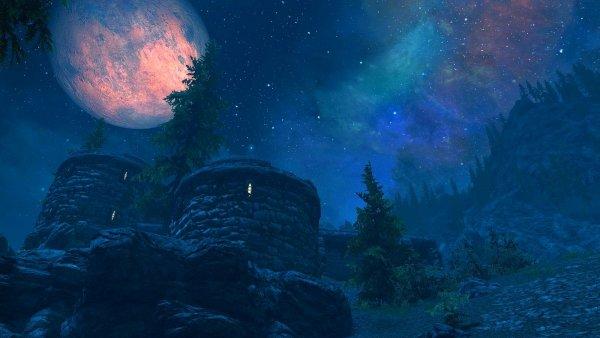 Тёмной ноченькой.. SkyrimSE (сборка 5.1)