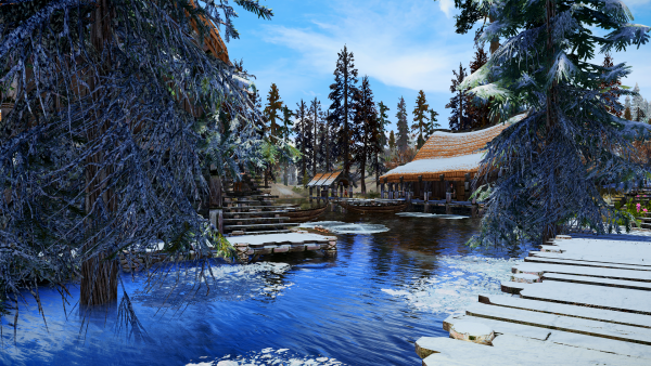 SkyrimSE 6.0 - Зима - холода