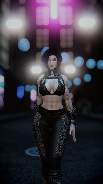 Cyberpunk пресет