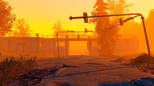 Моё поселение-форт на перекрёстке опасных дорог! Fallout-4