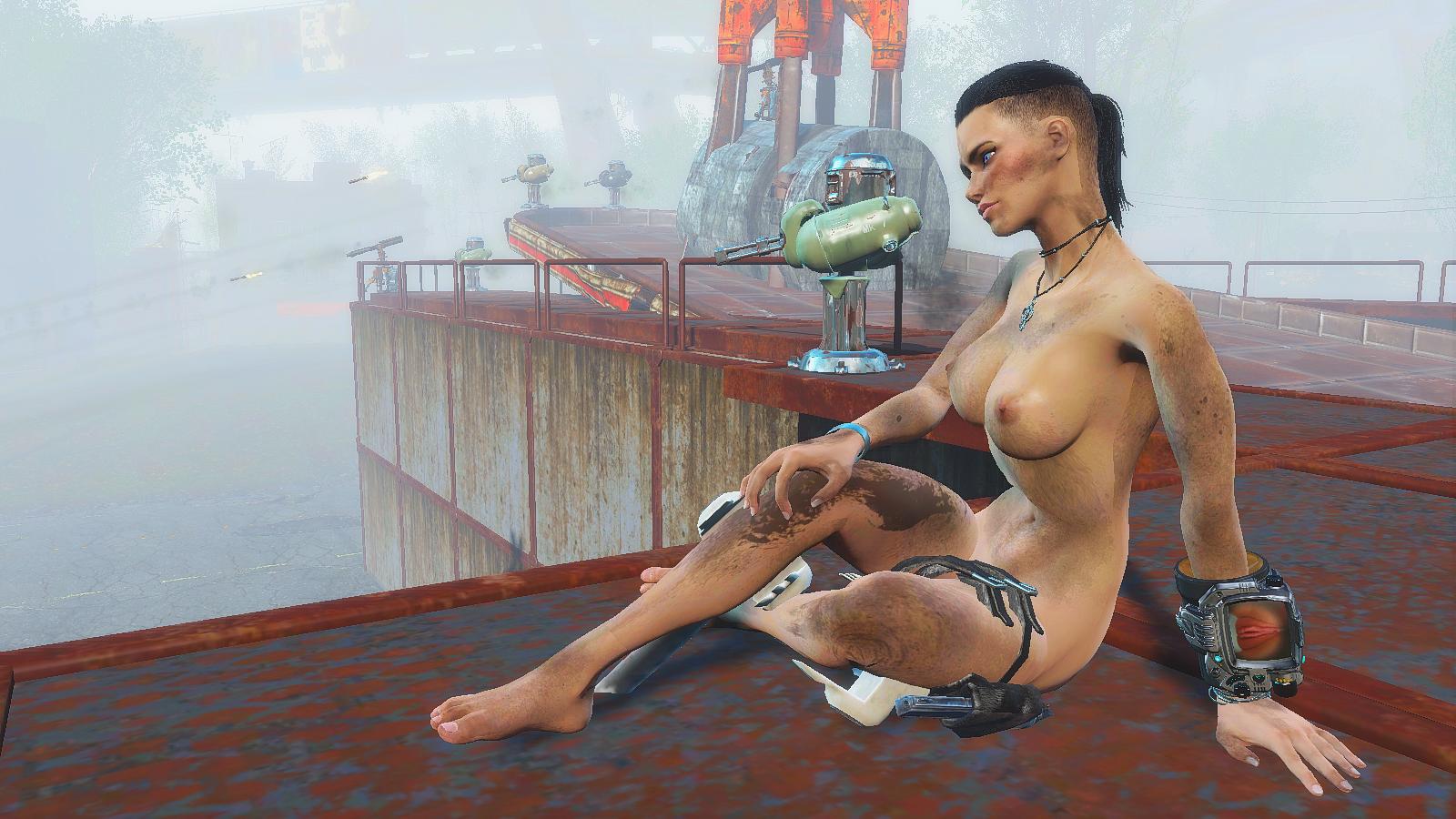 Турели работают, а Ева отдыхает.. Fallout4