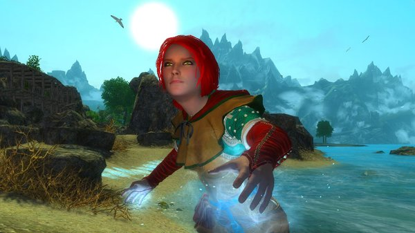 Трисс в Enderal Forgotten Stories (сборка 3.0)