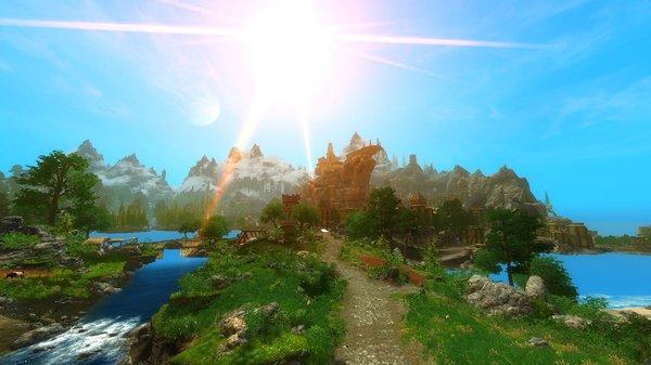 Вид на Арк.. Enderal Forgotten Stories (сборка 3.0)