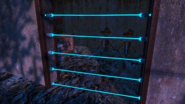 Стала ставить лазерные двери.. Fallout-4