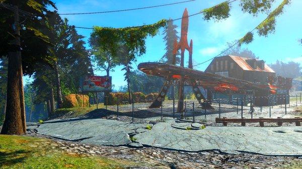 Моё любимое и главное поселение! Fallout-4