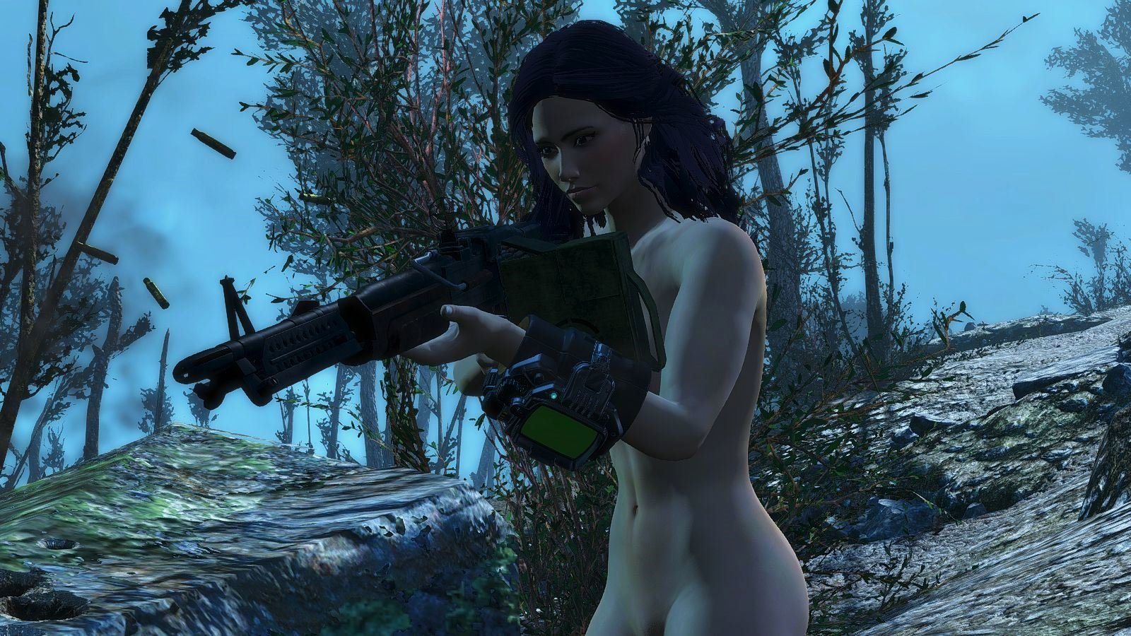 Когда мешают загарать.. Fallout-4 (сборка 6.0)